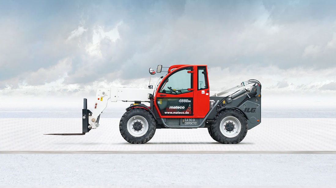 Telescopic off-road forklifts